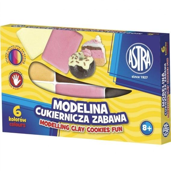 Modelina Astra - cukiernicza zabawa, 6 kolorów (304114001)